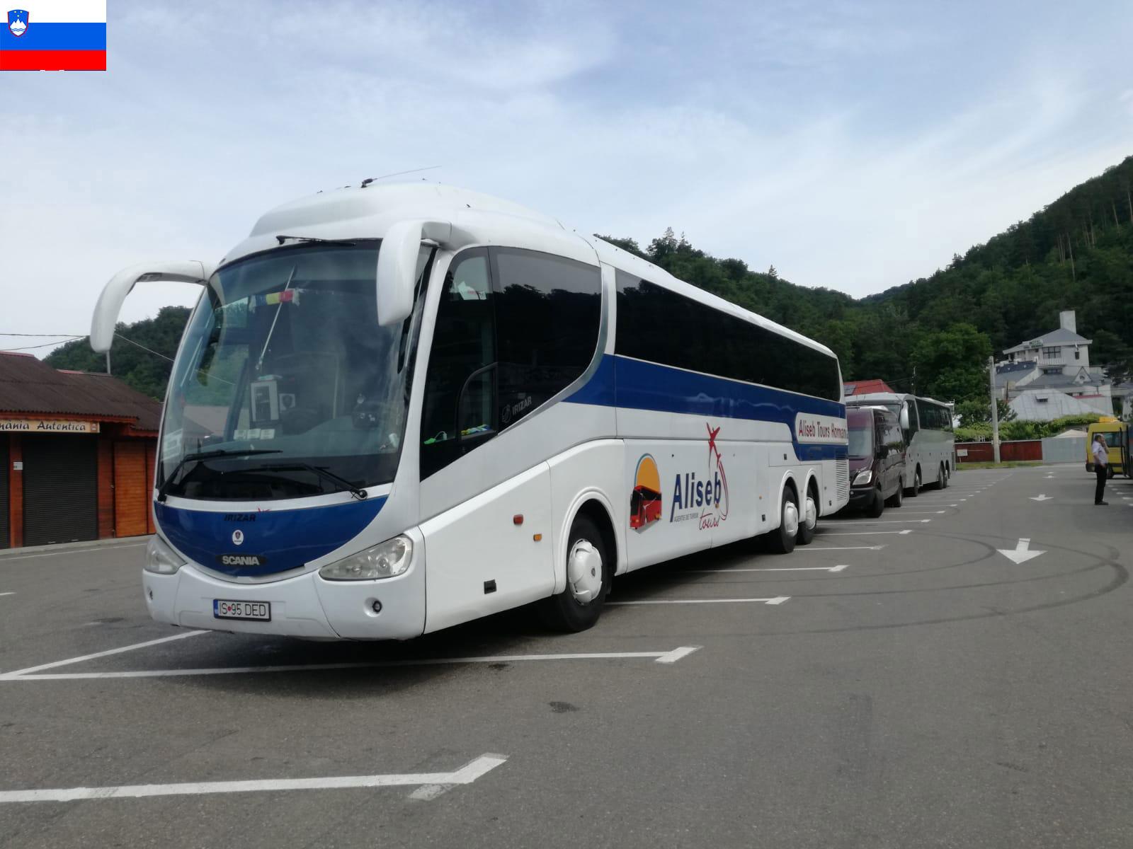 transport persoane Romania Slovenia